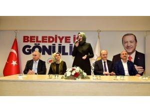 AK Parti Genel Başkan Yardımcısı Fatma Betül Sayan Kaya, AK Parti Fatih Seçim Koordinasyon Merkez'ini ziyaret etti