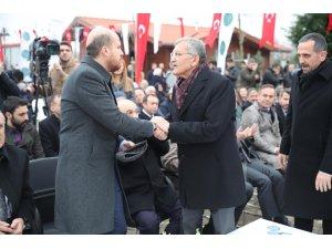 """Beykoz'da """"Okçular Vakfı Riva Tesisi ve Alibahadır Mesire Alanı"""" törenle açıldı"""