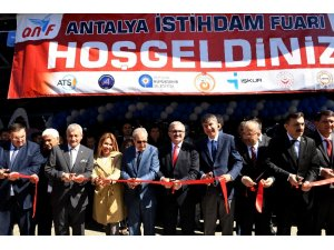 Antalya'da istihdam fuarı ANİF, 6'ncı kez kapılarını açtı