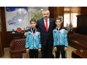 Başkan Kılıç, özel sporcuları ödüllendirdi