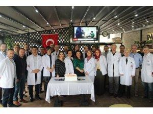 Tıp Bayramı nedeniyle Özel İmperial Hastanesi'nde kutlama yapıldı