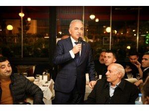 """İsmet Yıldırım: """"İstanbullular Binali beyi, yüksek bir oyla seçecek"""""""