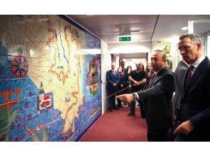 Çavuşoğlu ve Stoltenberg Türkiye'yi anlatan minyatür panoların açılışını yaptı