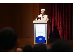 """Diyanet İşleri Başkanı Prof. Dr. Erbaş: """"FETÖ, sevgi ve merhamet tellallığı yaparak insanımızı aldatmaya çalışmıştır"""""""
