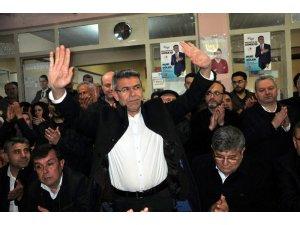 Cumhur İttifakı Köşk adayı Nuri Güler, Gökkiriş sakinleriyle buluştu