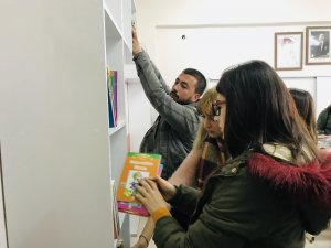 Köy okulları 5 yılda 45 bin kitaba kavuştu