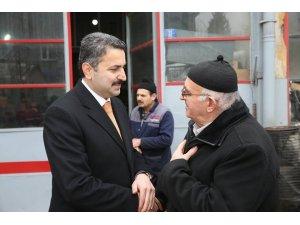 """Başkan Eroğlu: """"Boş vaatler vermem"""""""