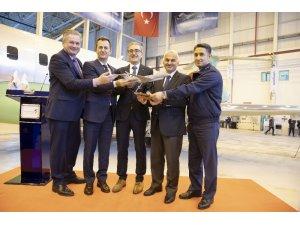 Elektronik harp sistemi kurulacak uçaklar Türkiye'ye geldi