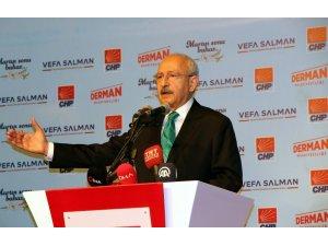 """Kılıçdaroğlu: """"Bu ülkenin temel sorunu işsizliktir"""""""