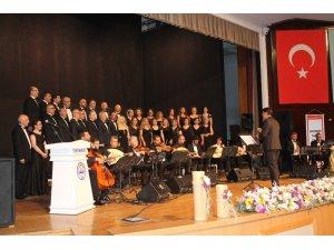 Kayseri Tabip Odası korosundan muhteşem konser