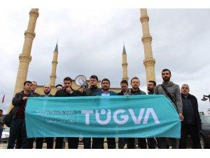 Antalya'da cuma namazı çıkışı Yeni Zelanda'daki saldırı kınandı