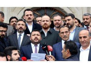 Bilal Erdoğan Yeni Zelanda'daki saldırıda ölenler için gıyabi cenaze namazına katıldı