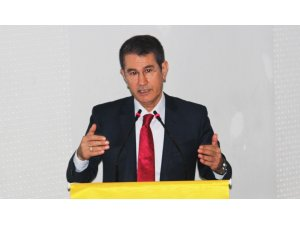 """Canikli: """"Türkiye'nin en büyük problemi ithalat fazlalığıdır"""""""