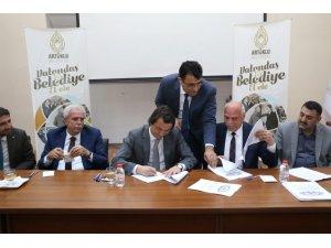 Artuklu Belediyesi'nde toplu iş sözleşmesi imzalandı