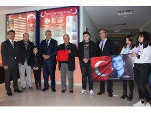 """""""Şehit İbrahim Kılıç"""" törenle anıldı"""
