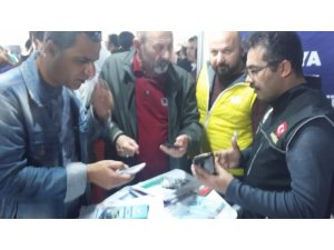 "Antalya Polisi istihdam fuarında ""UYUMA"" Projesini tanıttı"