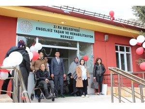 Zara'da Engelsiz Yaşam Merkezi açıldı