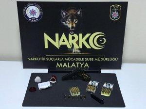 Malatya'da uyuşturucu ticaretine 5 tutuklama