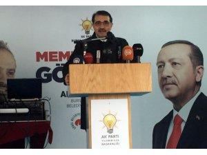 Enerji Bakanı Dönmez'den Bursa'ya doğalgaz sözü