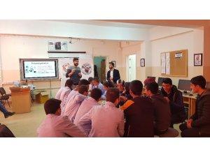 BEÜ öğrencisinden robotik eğitimi