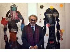 Prof. Dr. Koçan'ın SANKO Sanat Galerisindeki sergisine ilgi