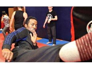 Etiyopyalı sporcu, Kocaeli'de öğrendikleri Jeet Kune Do sporunu ülkelerinde öğretecek