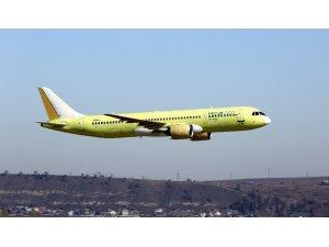 Rus yolcu uçağı test uçuşğunu başarıyla gerçekleştirdi