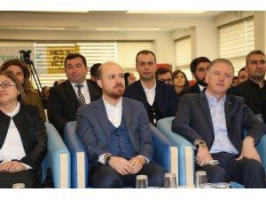 Bilal Erdoğan, Gaziantep'te öğrencilerle buluştu
