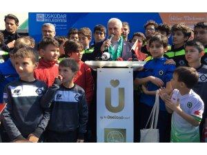 Binali Yıldırım ve Hulusi Akar Çamlıca Spor Kulübü öğrencileriyle bir araya geldi