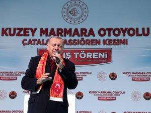 """Cumhurbaşkanı Erdoğan: """"Bay Kemal eğer sen Müslümansan, terörün kaynağının İslam dünyası olduğunu nasıl söylersin?"""""""
