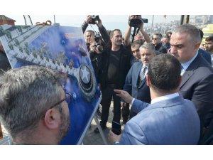 Bakan Ersoy'dan Gemlik Belediye Başkan Adayı Bulut'un projelerine destek