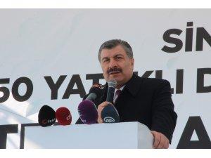 """Sağlık Bakanı Koca, """"Yurtdışından yoğun hastanın Türkiye'ye geldiği dönemdeyiz"""""""