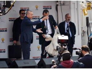 Cumhurbaşkanı aldığı köfte sözüne karşılık Tekirdağ'a eli boş gelmedi
