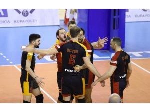 AXA Sigorta Erkekler Kupa Voley: İstanbul Büyükşehir Belediyespor: 0 - Galatasaray: 3