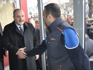 Sanayi ve Teknoloji Bakanı Varank'ın Bitlis ziyareti