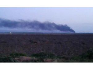 Teröristler Nevruz bahanesiyle birçok noktada ateş yaktı