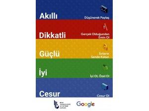 BTK ve Google'ın bilinçli internet kullanımı projesi
