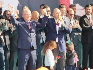 """İç işleri Bakanı Süleyman Soylu;  """"Bodrum'un ve Belediye Başkan adayımız Tahir Ateş'in emrindeyim"""""""