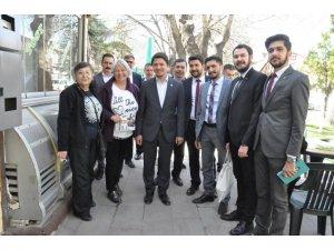 Selman Özboyacı Akşehir'de
