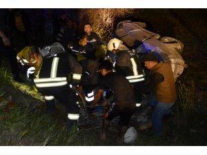 Muğla'da otomobil şarampole devrildi: 1 ölü, 2 yaralı