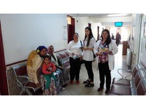 Karacasulular kanser hastalığı hakkında bilgilendirildi