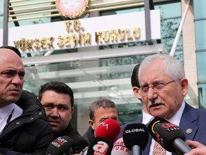 YSK Başkanı Güven: İtiraz olmayan yerlerde mazbatalar verilecek