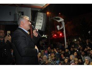 Yusuf Turanlı'dan zafer mitingi