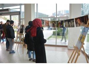 Düzce Üniversitesi Zamanın Tanıkları sergisi