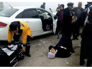 Kahta'da sis kazaya neden oldu: 5 yaralı