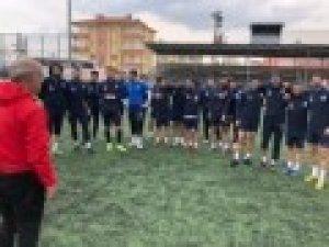 Malatya Yeşilyurt Belediyespor'da Elbistan maçı hazırlıkları sürüyor