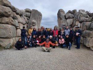 Turizm rehberleri Çorum'a eğitim gezisi düzenledi