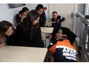 AFAD deprem simülasyon tırı Kayseri'de