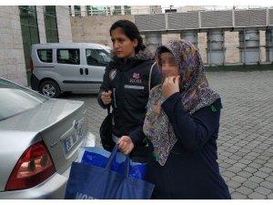 Havalimanında sahte kimlikle yakalanan FETÖ'cü kadın tutuklandı