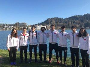 Kayserili sporcular Slovenya'dan altın madalya kazandı
